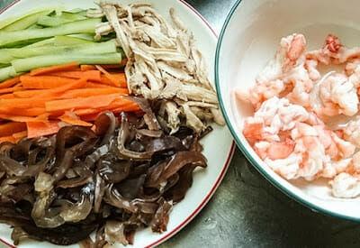 [下廚]三風麵館藍藻麵創意料理DIY。日式涼麵&台式炒麵~今天你想吃哪一道 - 13