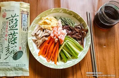 [下廚]三風麵館藍藻麵創意料理DIY。日式涼麵&台式炒麵~今天你想吃哪一道 - 14
