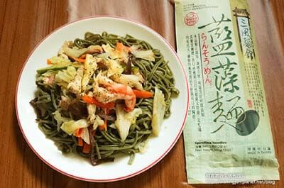 [下廚]三風麵館藍藻麵創意料理DIY。日式涼麵&台式炒麵~今天你想吃哪一道 - 20