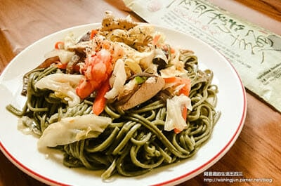 [下廚]三風麵館藍藻麵創意料理DIY。日式涼麵&台式炒麵~今天你想吃哪一道 - 21