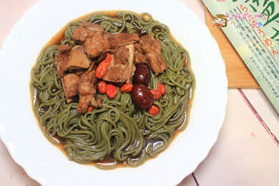 三風麵館,藥燉四物排骨養生藍藻麵,配上清爽的日式醬西施麵,夏天也要吃補(上) - 17