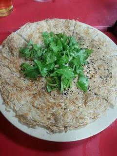 百福友白髮素麵食譜-麵線Pizza - 1