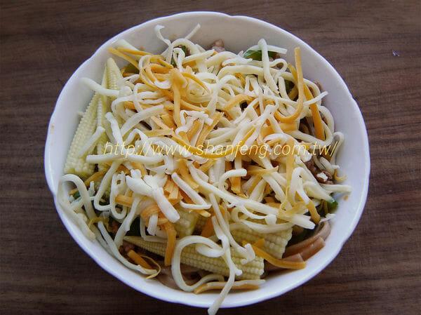 三風麵館-茄汁肉燥焗烤五穀麵10